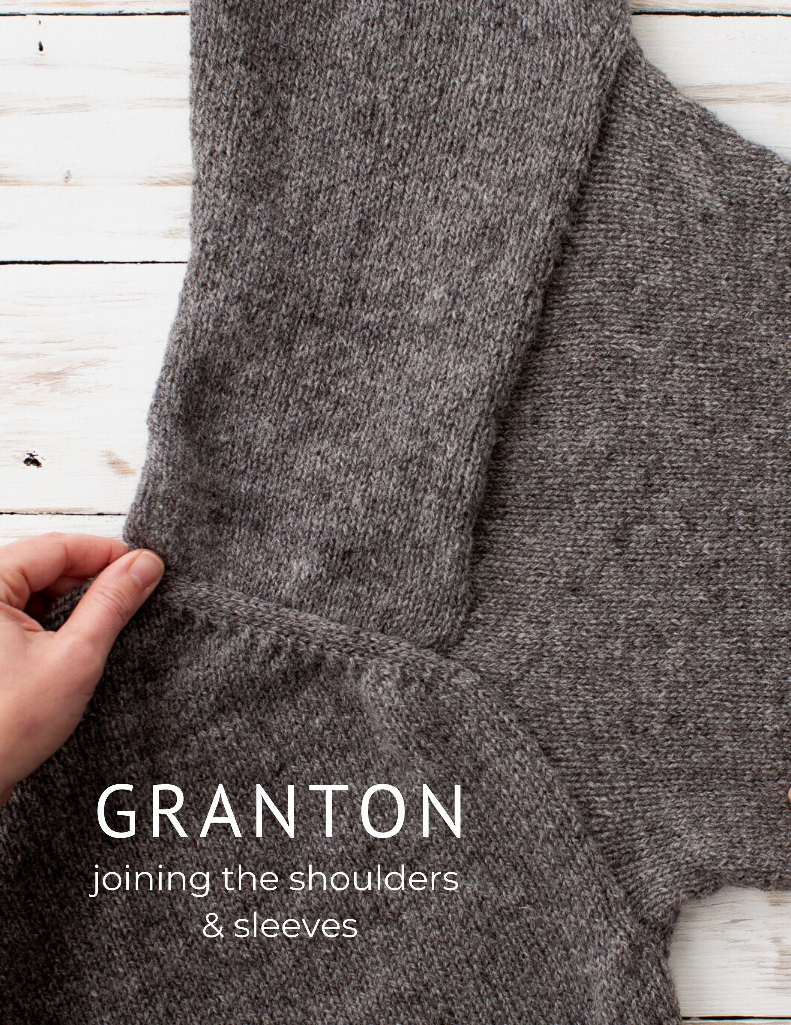 Granton - Joining the Shoulders and Sleeves