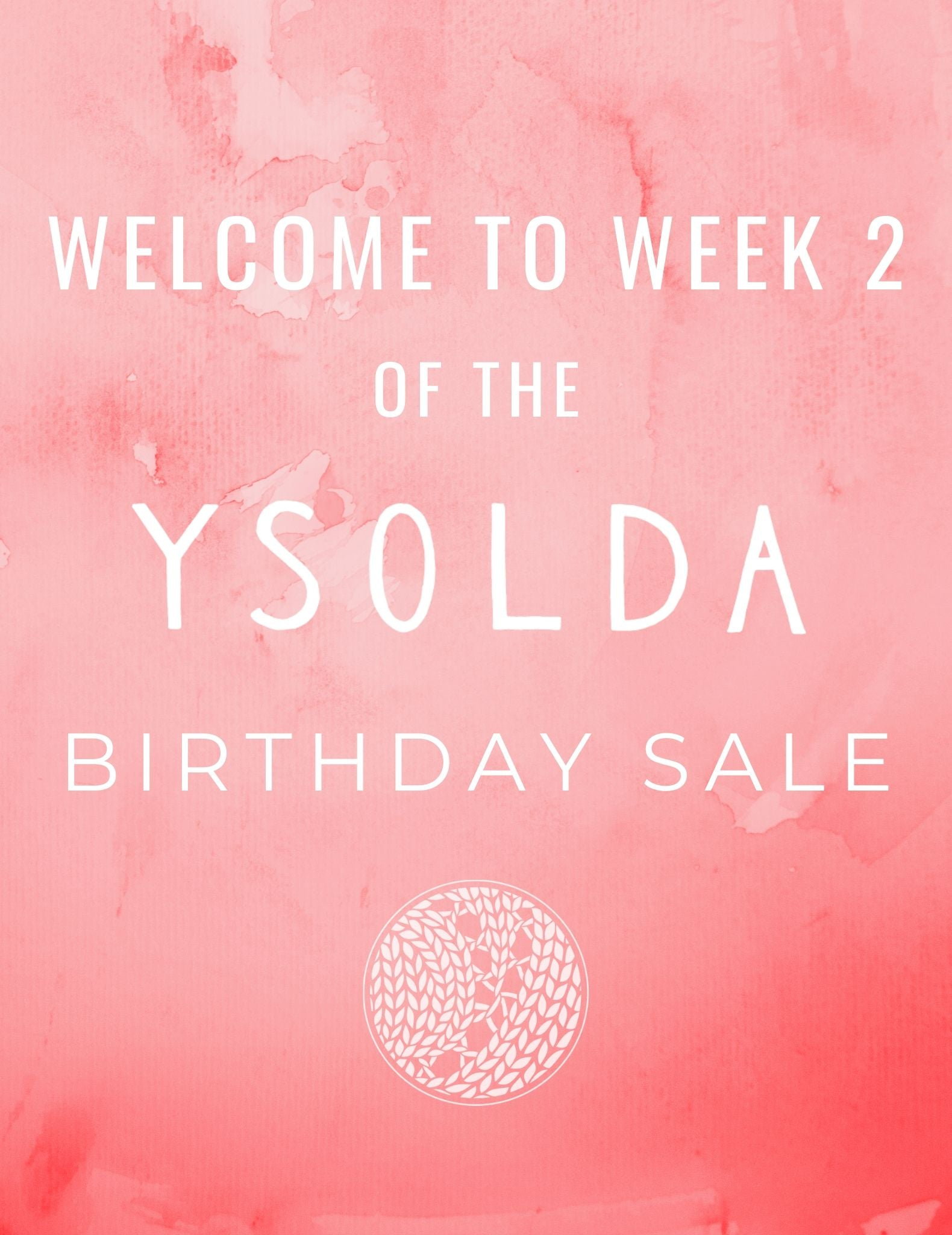2020 Birthday Sale Week 2