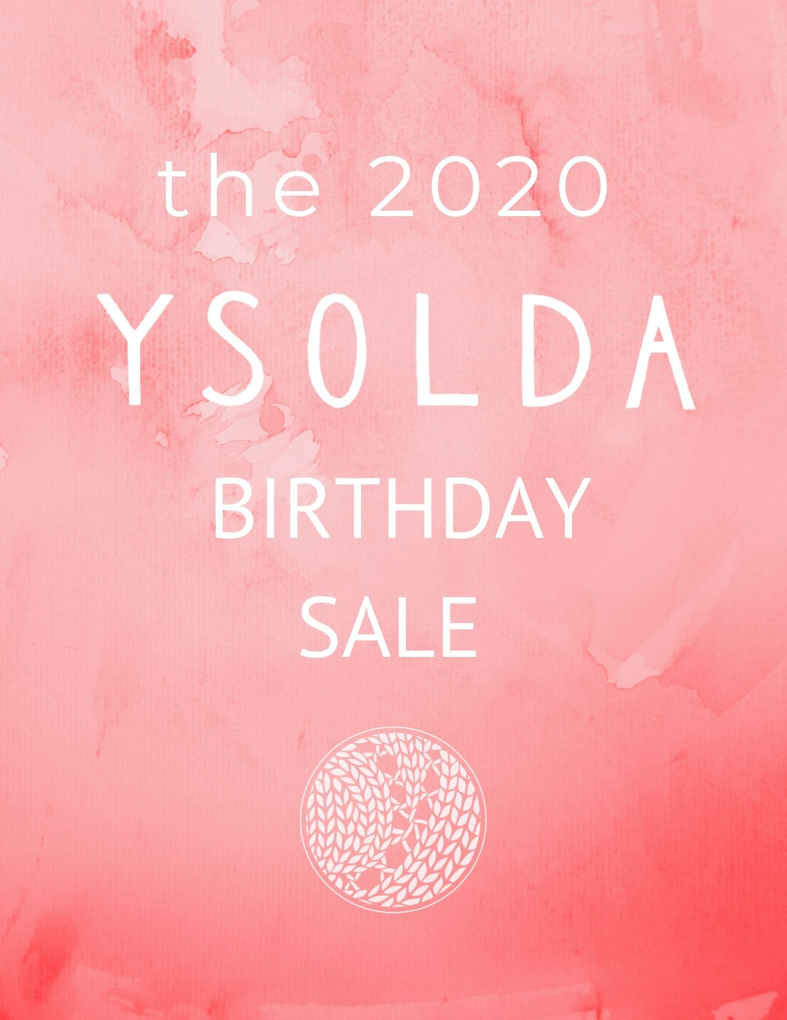 2020 Birthday Sale Week 1