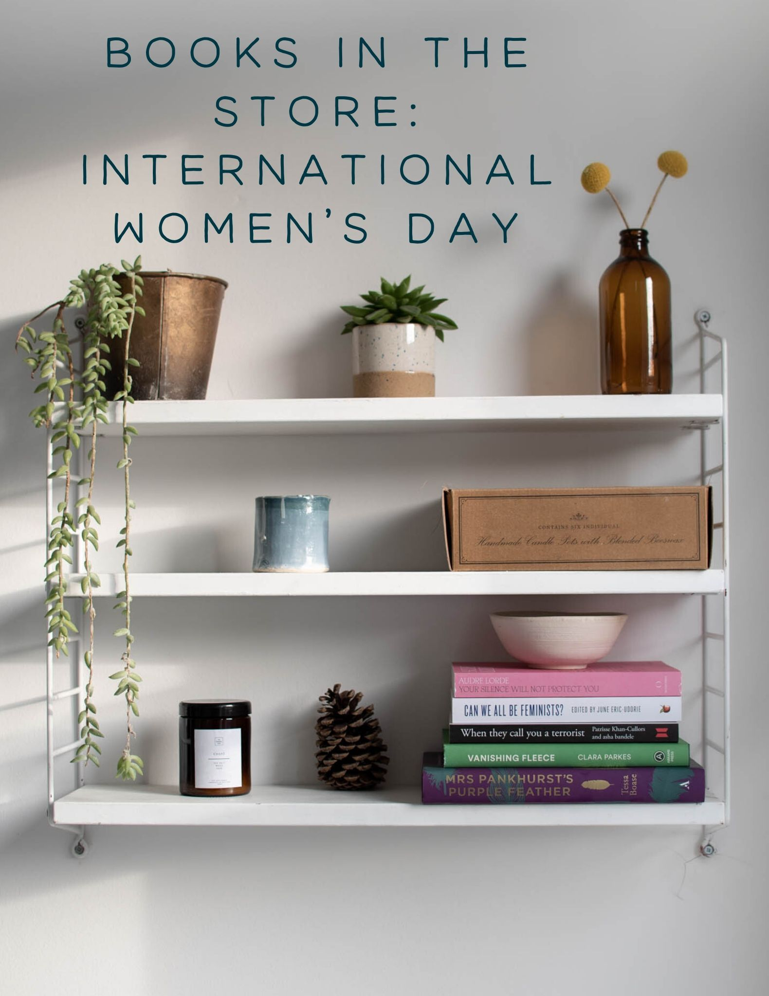Books in the Store: International Women's Day