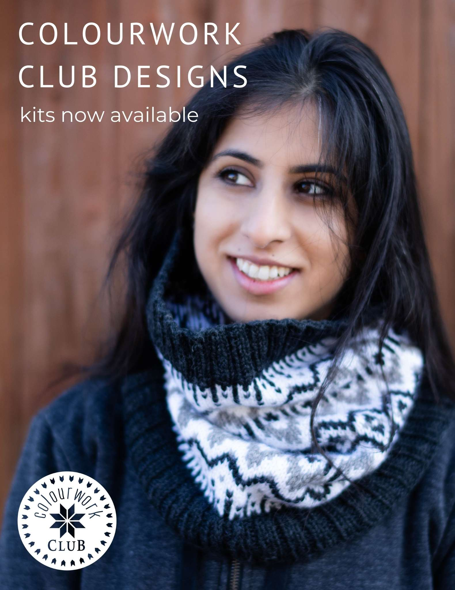 Our First Colourwork Club - Kits are now available!