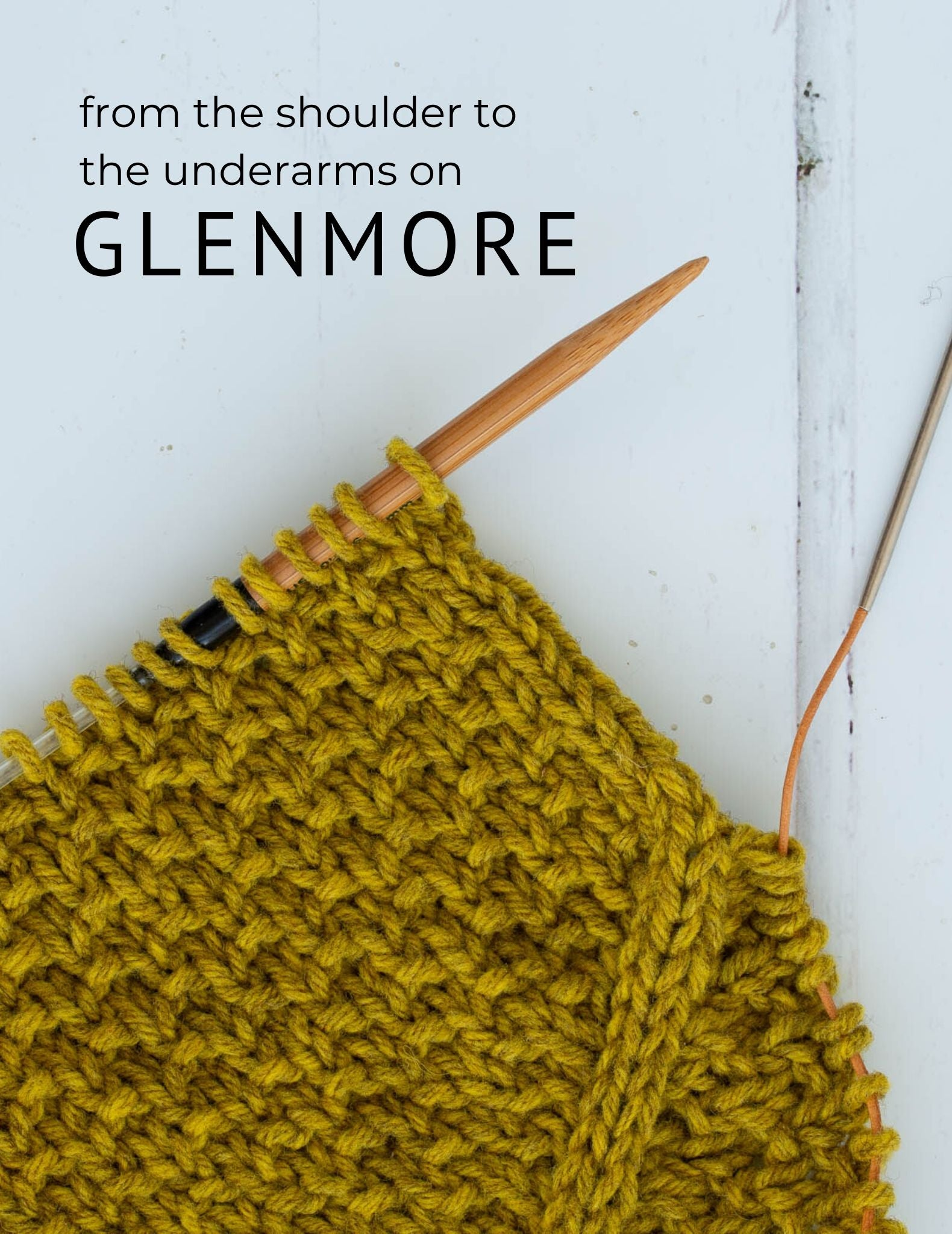From the shoulders to the underarms on Glenmore