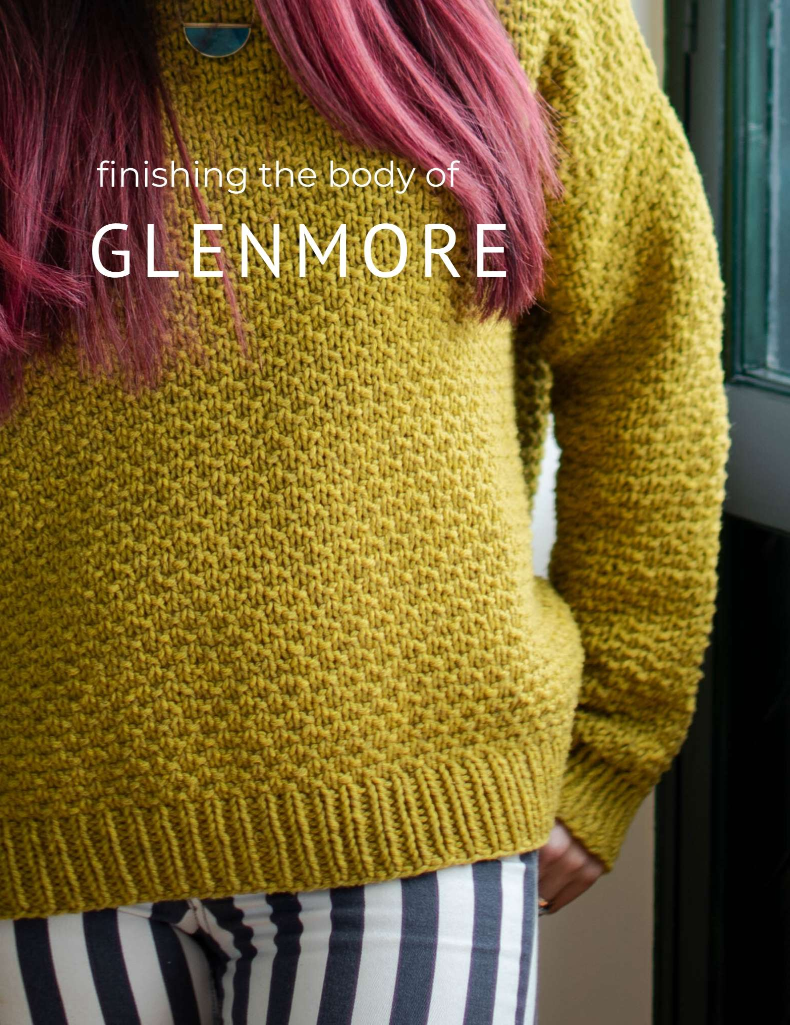 Finishing the body on Glenmore