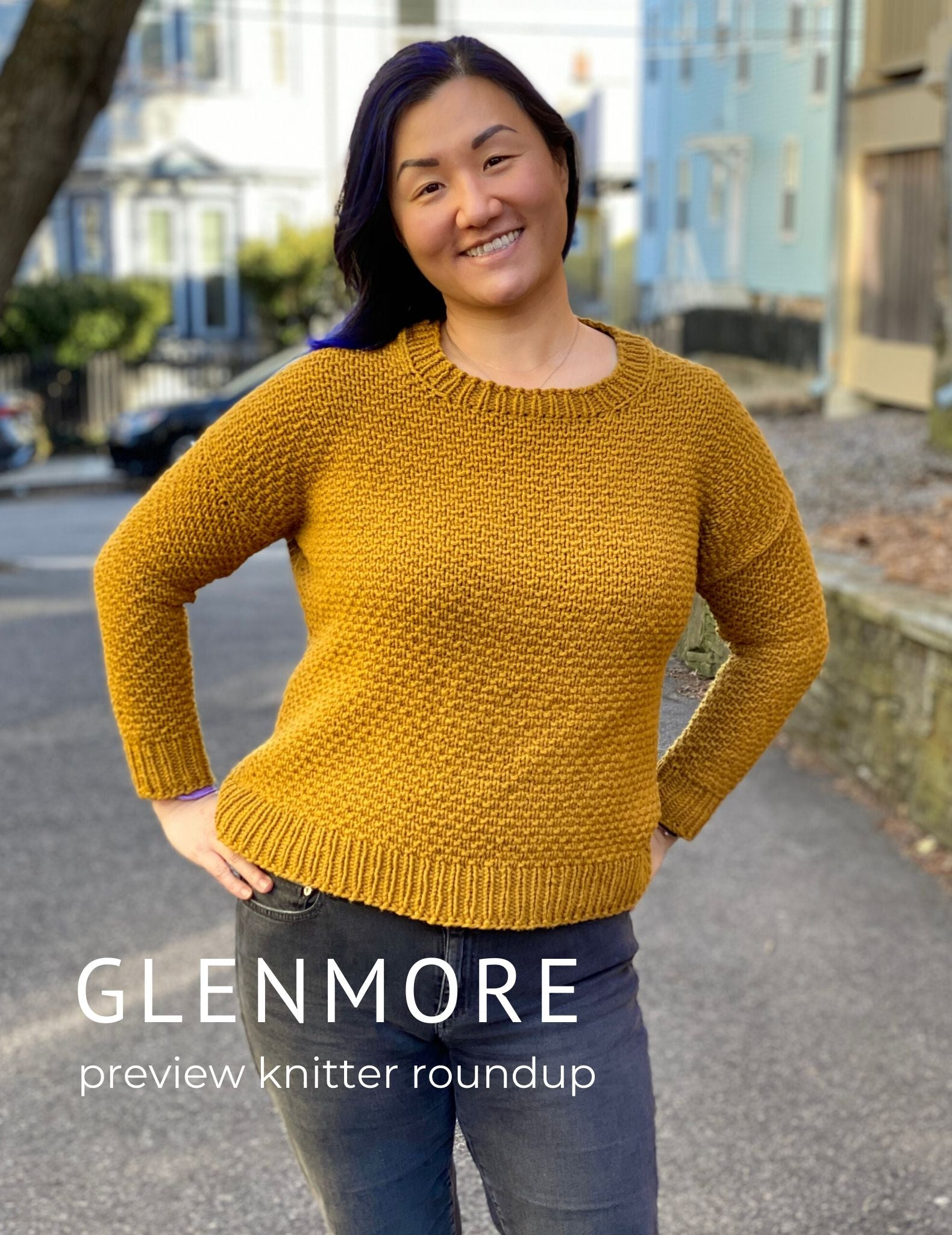 Glenmore: A knitted sweater design for all bodies