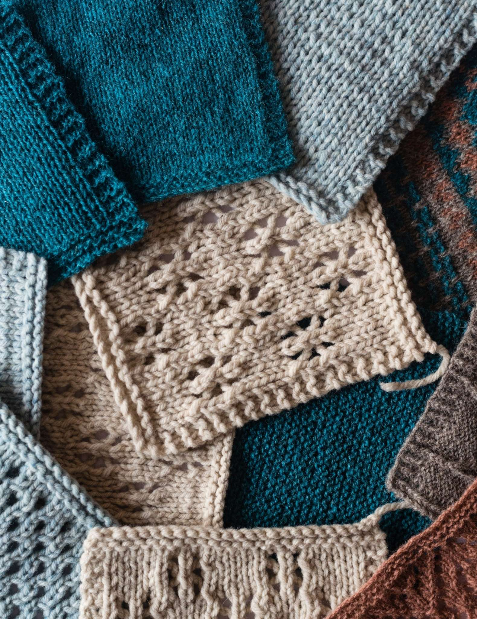Learn to knit: How to knit a swatch