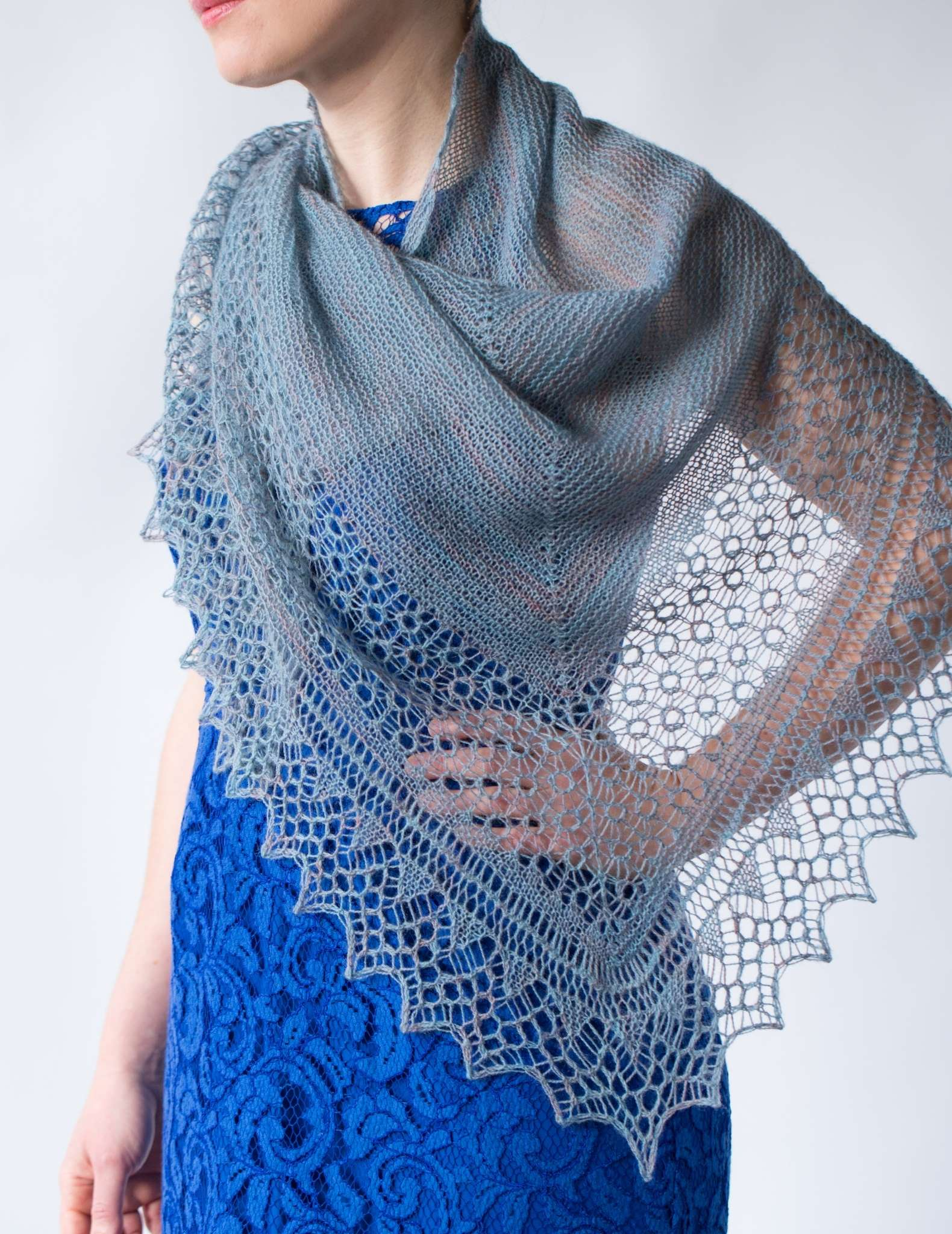 Knitted shawl patterns perfect for Spring