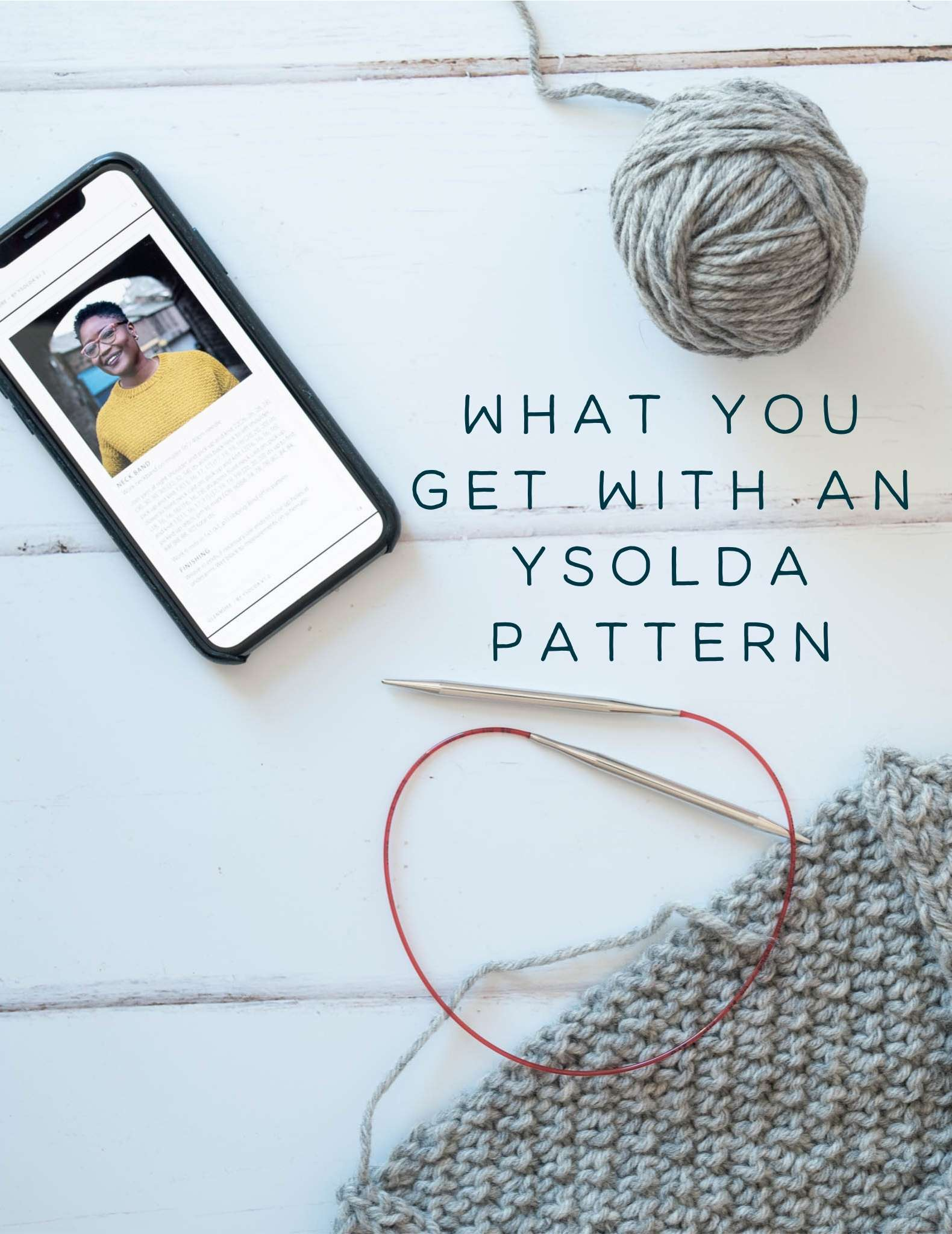 What you get with an Ysolda pattern