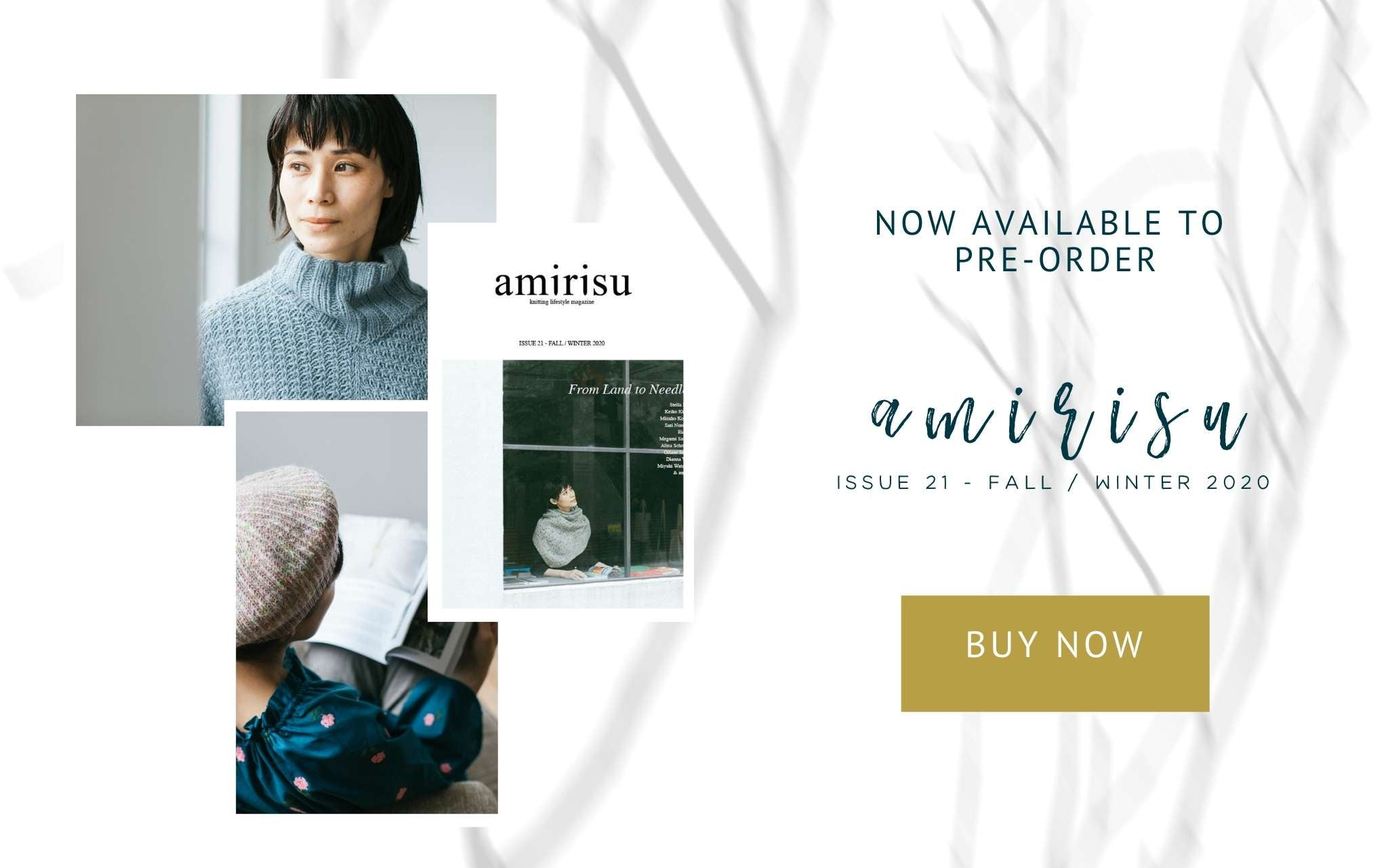 amirisu issue 21 - now available to pre-order