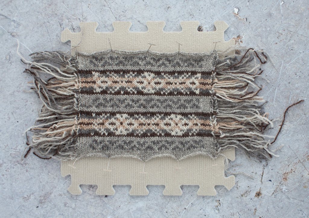 Image of a fair isle swatch