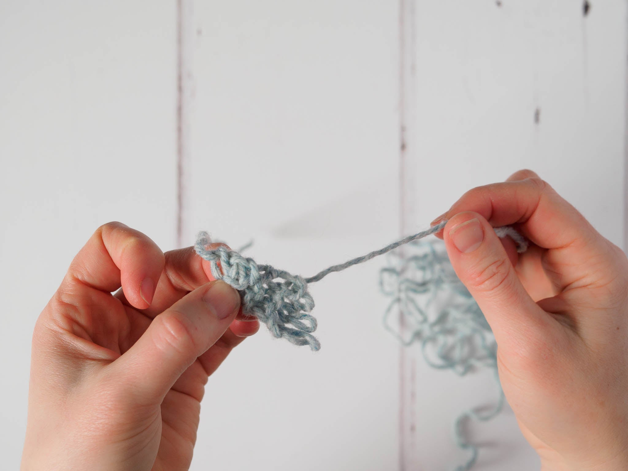 ripping out a garter tab
