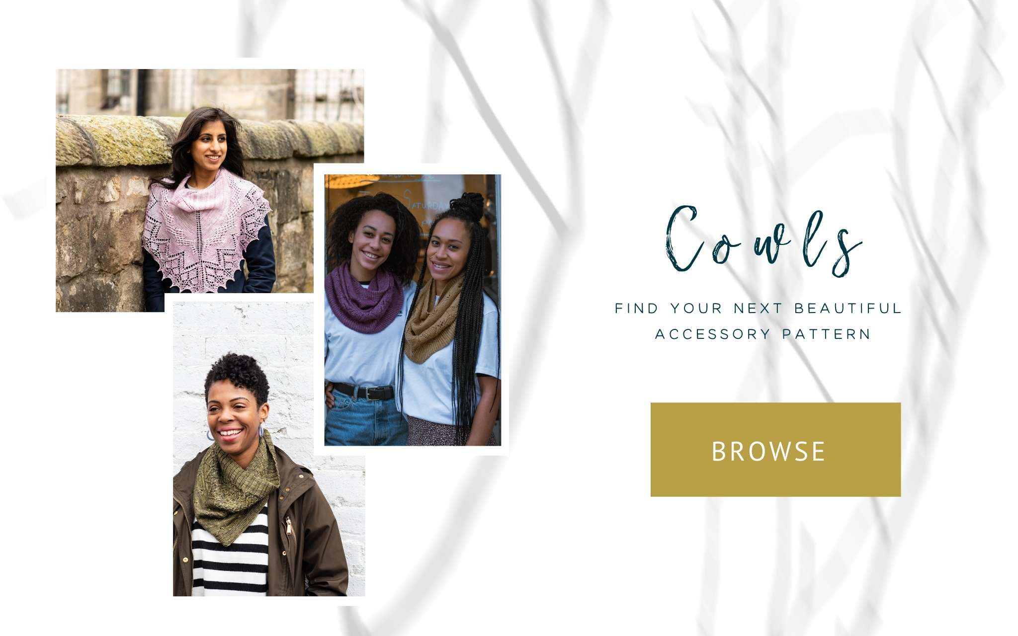 Browse cowl patterns