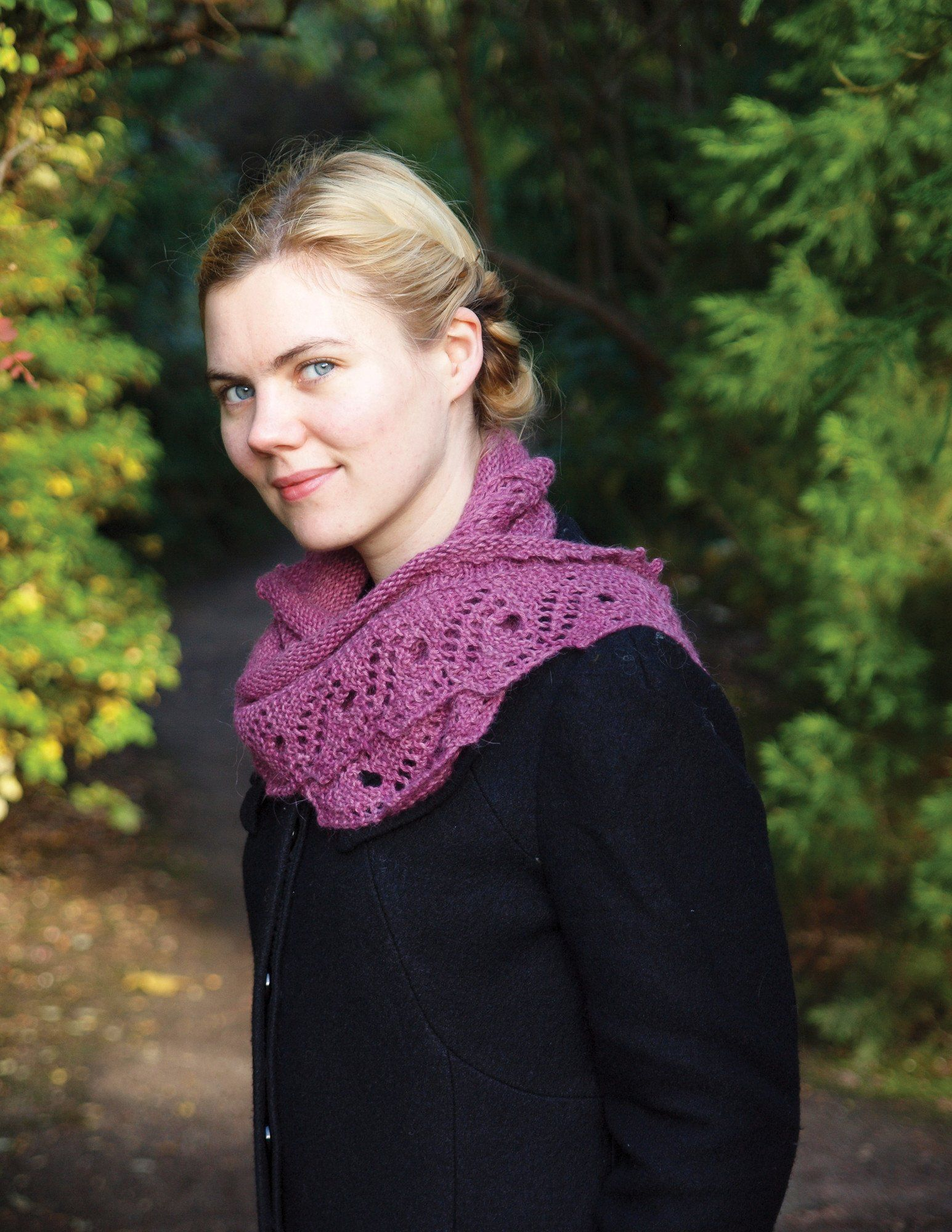 Scroll Lace Scarf Patterns Ysolda