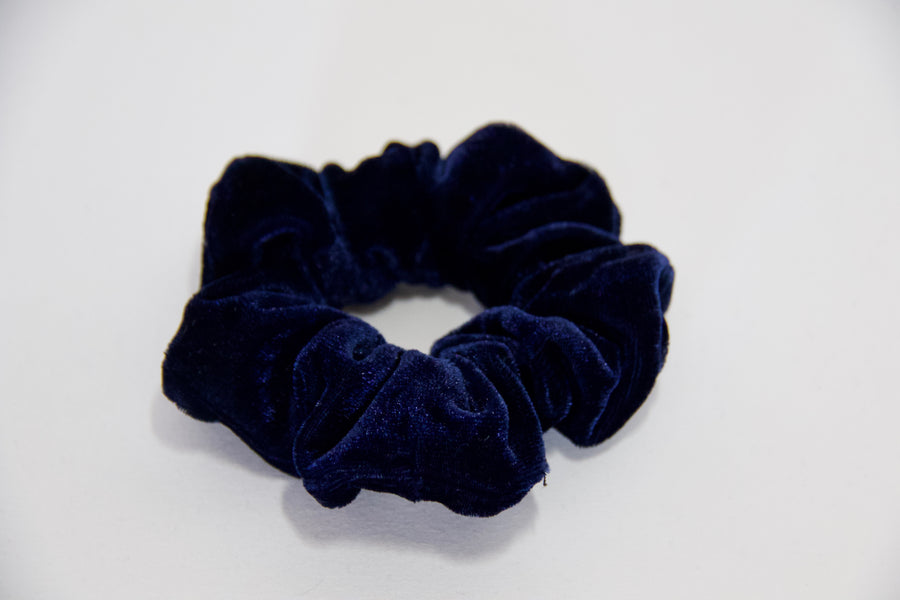 Plain Velvet Scrunchies