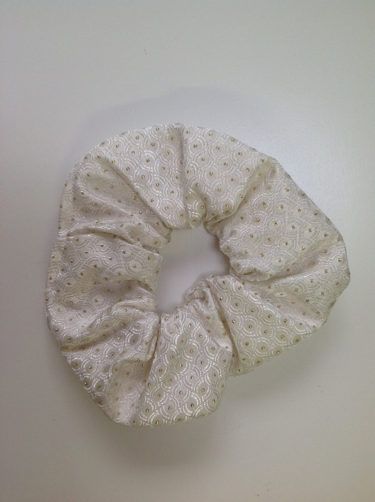Brocade Scrunchies.  To match our Stocks