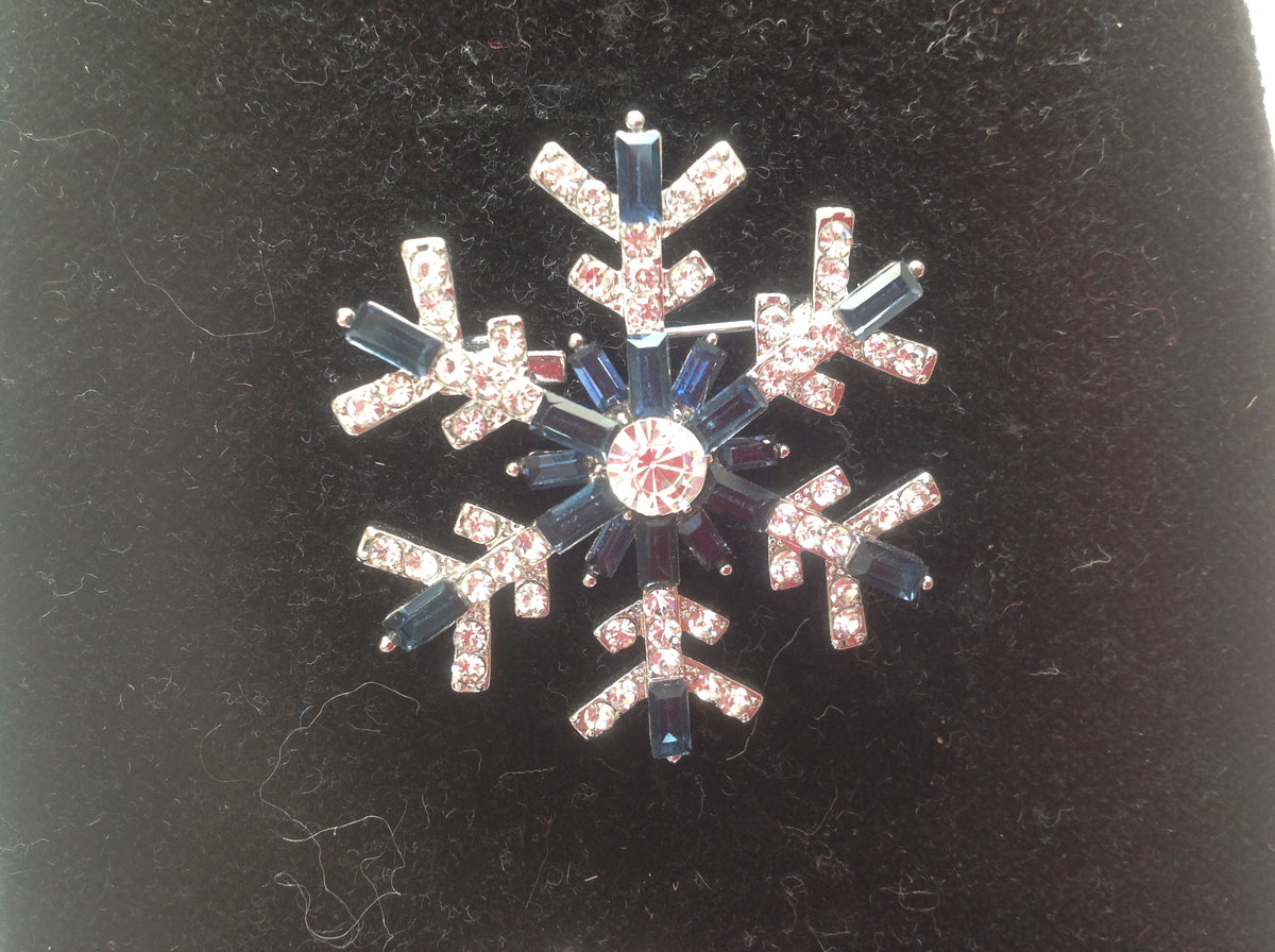 Snowflake Stock Pin