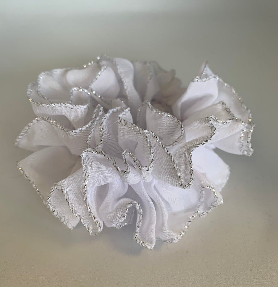 Deluxe Ruffled Scrunchies
