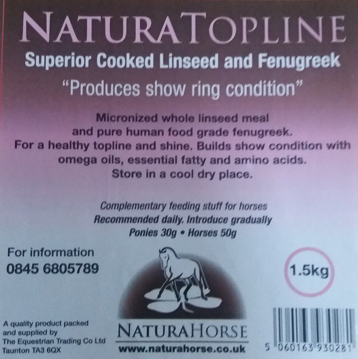 Natura Topline (Linseed & Fenugreek)