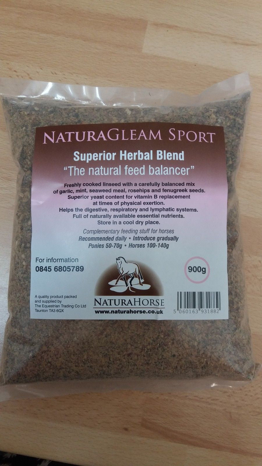 Natura Gleam Sport (Natural Feed Balancer)