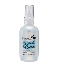 REFRESHING BODY SPRITZER Coconut & Cream 100ml - Eliksirio - 1