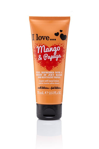 I Love Hand Lotion - Mango And Papaya - Eliksirio