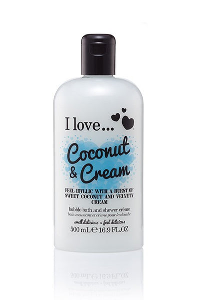I love bubble bath Coconut & Cream 500ml - Eliksirio