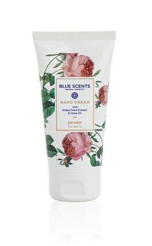 Αποτέλεσμα εικόνας για Blue Scents Natural Cosmetics Hand Cream 75ml peony