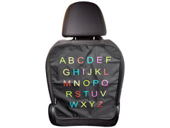 Car Seat Cover, Alphabet Design
