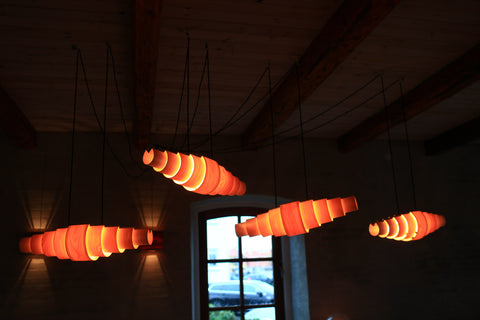 Wood Ceiling Lamps