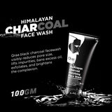 Charcoal Face Wash for Men-100g