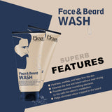 Face and Beard Wash