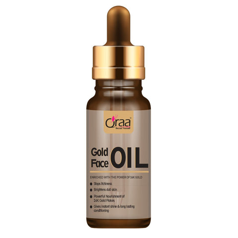 Gold Face Oil - With 24K Gold Leaves