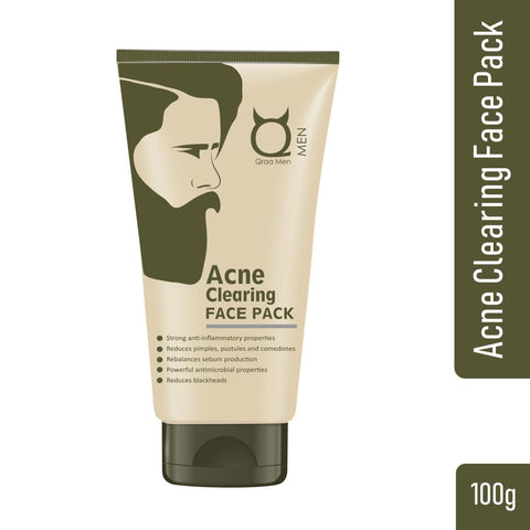 Acne Clearing Face Pack for Men 100g