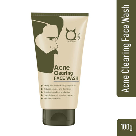 Acne Clearing Face Wash for Men 100g