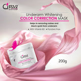 QRAA Underarm Whitening Color Correction Mask For Dark Underarms, 250 g