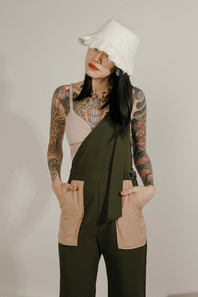 ACRUX JUMPSUIT (MILITARY GREEN)