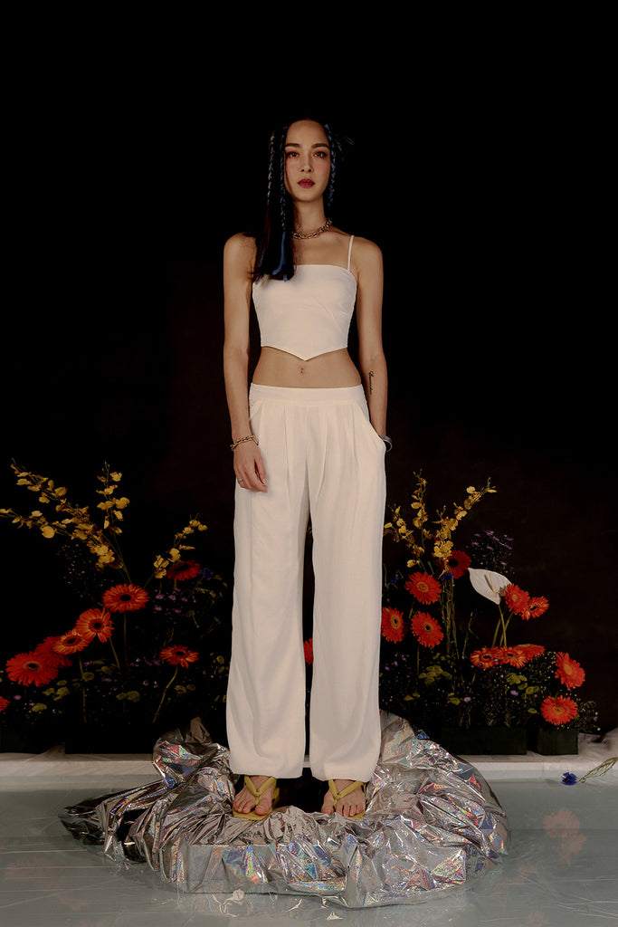 ARA SUMMER BANDANA CO-ORD (WHITE)