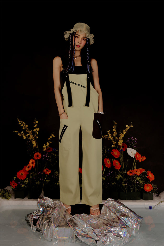 DOLOS OVERALLS (PALE GREEN)
