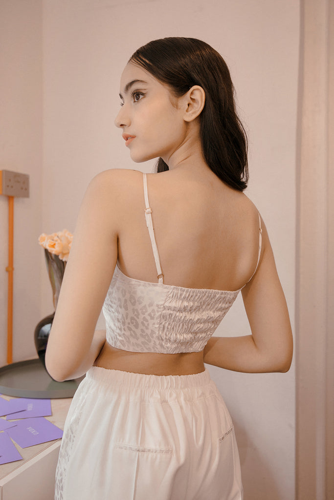 GRANIA BUSTIER TOP (WHITE)