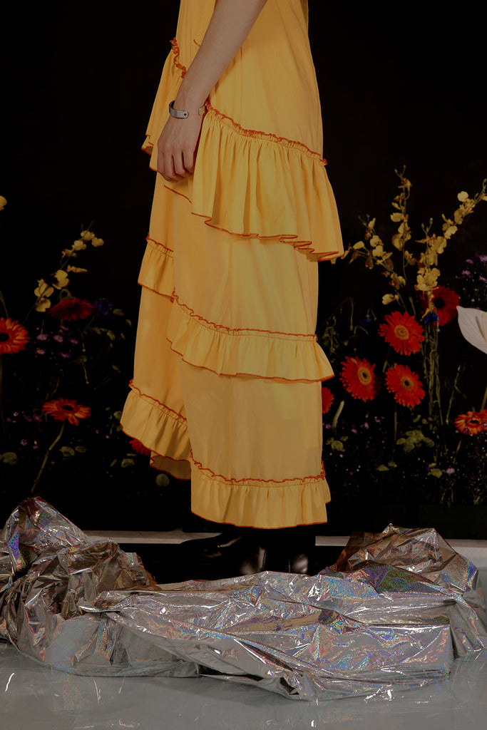 MIRANDA MAXI DRESS (YELLOW)