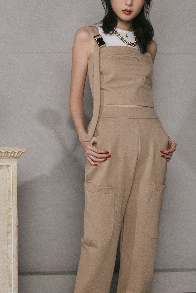 VEGA BUCKLE CO-ORD (TAUPE)