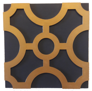 Wall Decor - Geometric pattern - Wall accent - Circles Series (WD2.10)