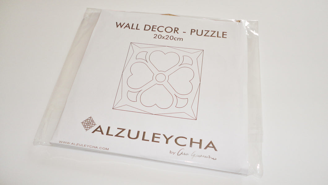 PUZZLE Wall Decor 20x20 - Trevo Series - DIY crafts