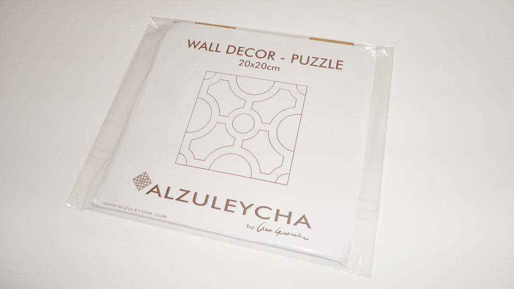 PUZZLE Wall Decor - Circle Series - DIY project