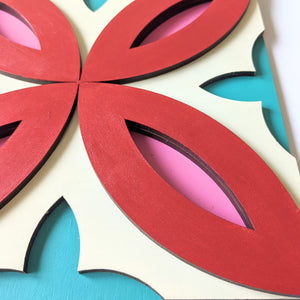 Wall Decor - 3D Wall decor - Folha de Oliveira Series (WD1.3)