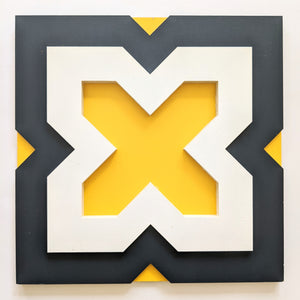 Wall Decor - Tile pattern - Geometric wall art - Cruz (WD3.7)