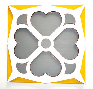 Wall Decor - Portuguese Tiles - Clover Series