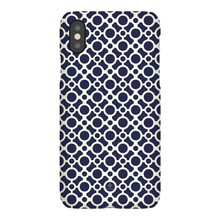 Load image into Gallery viewer, iPhone Phone Case - Circles Blue