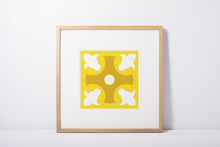 Load image into Gallery viewer, Poster - Art Print - Geometric Pattern - Lapa - Yellow