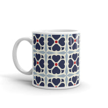 Load image into Gallery viewer, Mug - Ceramic cup - Clover - Blue