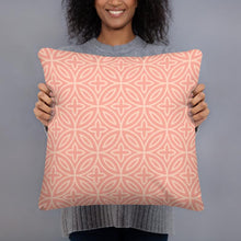 Load image into Gallery viewer, Throw Pillow - Folha Oliveira Rosa